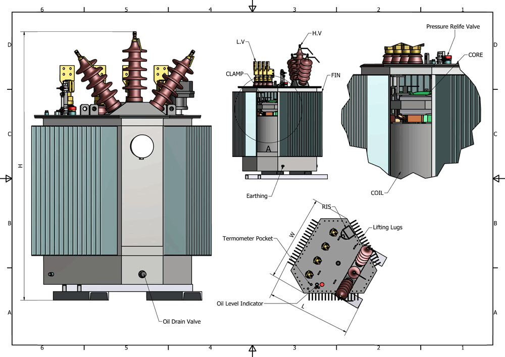 Energy Efficient Oil Immersed Transformers | Grant Transformers